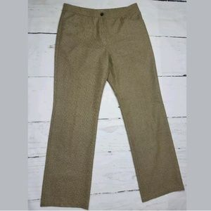 3/$20 Like New NURTURE brown tweed wide leg pants